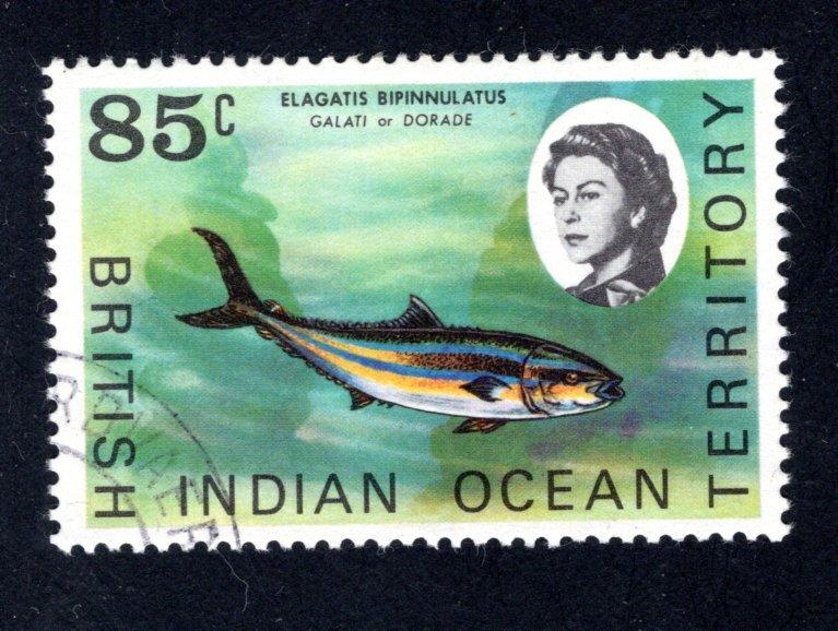 British Indian Ocean Territory, Scott 27  VF,  Used, CV $4.25 ..... 0870021