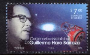 MEXICO 2816, 100th Birth Anniversary Guillermo Haro, Astronomer. MINT, NH. VF