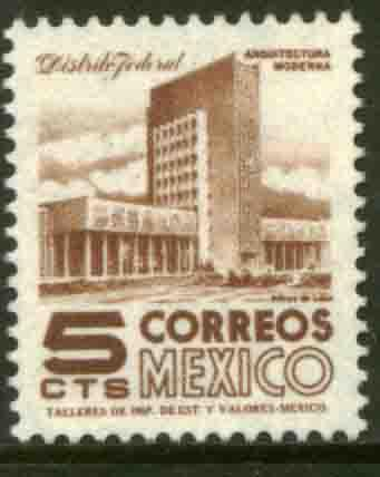 MEXICO 943 5cents 1950 Definitive 3rd Printing wmk 350 MNH