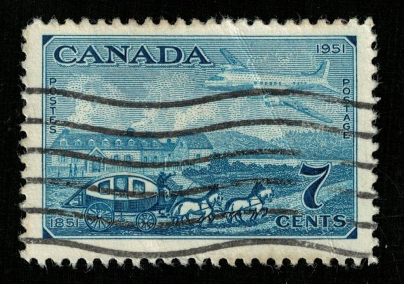 Canada, 7 cents, 1951 (T-5993)