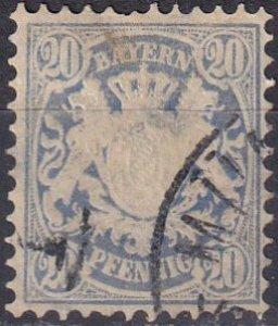 Bavaria #42  F-VF Used  CV $3.25 (Z7083)