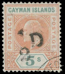 Cayman Islands Scott 18 Gibbons 18 Used Stamp