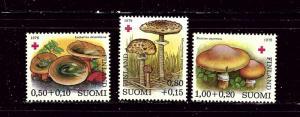 Finland B215-17 MNH 1978 Mushrooms