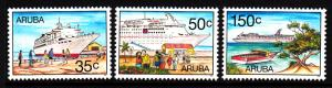 Aruba MNH Scott #151-#153 Set of 3 Tourism: Cruise ships