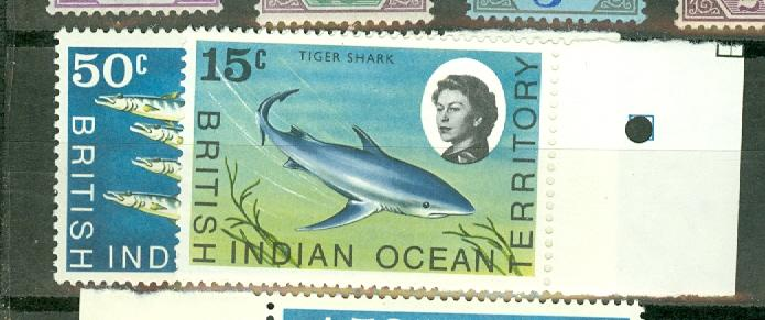 British Indian Ocean Territory 16//31 MNH CV $31.95