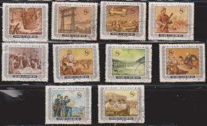 PR CHINA Scott # Between 449 & 466 Used - Not Full Set