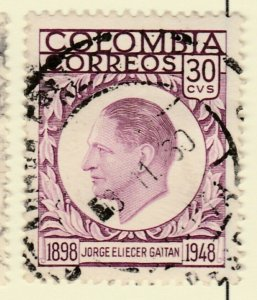 Colombia 1959 30c Fine Used A8P55F110