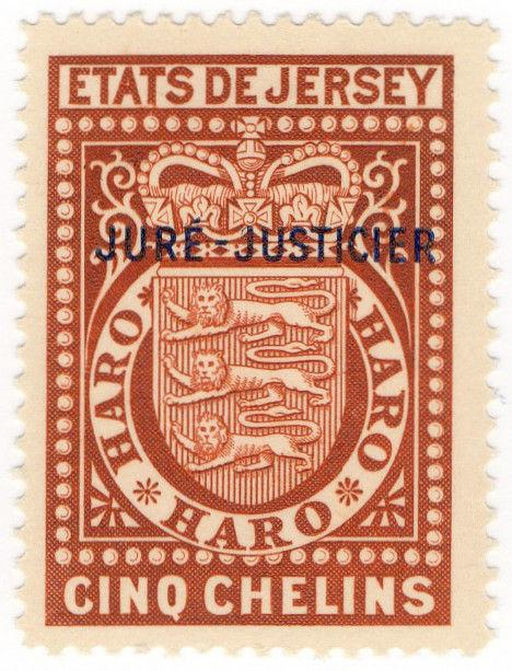 (I.B) Jersey Revenue : Justice 5/-