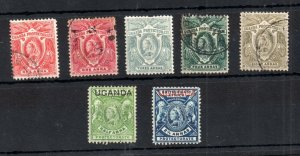 Uganda Protectorate 1898-1902 mint and used collection Cat Val £50+ WS19224