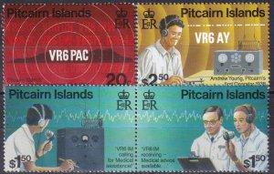 Pitcairn Islands  #453-6  MNH CV $8.90 (Z6164)