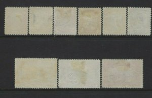 CANADA - #149-#159 - KING GEORGE V SCROLL ISSUE USED SET #158 BLUENOSE