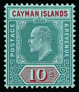 Cayman Islands Scott 29-30 Gibbons 33-34 Mint Set of Stamps