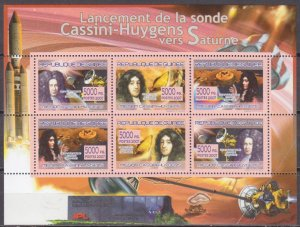 2007 Guinea 5295-300KL Flight of the probe to Saturn 8,50 €