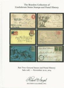 Brandon - Confederate States, R. A. Siegel, N.Y., Sale 1087, Nov. 20-21, 2014