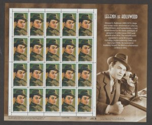 U.S. Scott #3446 Legends of Hollywood Stamp - MR Plate Position - Mint NH Sheet