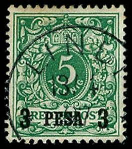 GERMAN EAST AFRICA 2  Used (ID # 55662)
