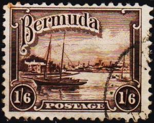 Bermuda. 1936  1s6d  S.G.106 Fine Used