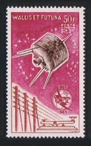Wallis and Futuna Centenary of ITU 1v Airmail SG#187 SC#C20