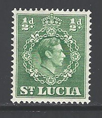 St. Lucia Sc # 110 mint hinged (RS)