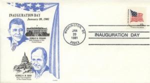 1981 Ronald Reagan Inauguration Gamm