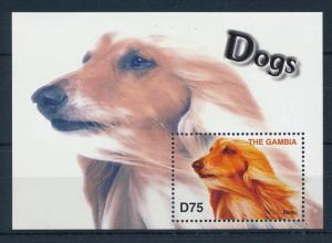 [31656] Gambia 2004 Animals Dogs Borsoi MNH  Sheet