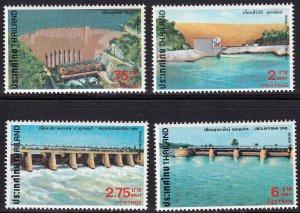 Thailand 1978, Dams & Reservoirs  MNH set # 857-860