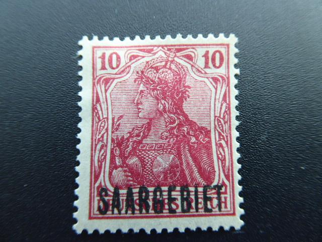 Germany  Saar 1920  Sc.#43