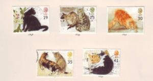 Great Britain Sc 1586-0 1995 cat stamps used