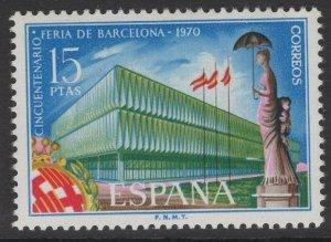 SPAIN SG2033 1970 50th ANNIV OF BARCELONA FAIR MNH