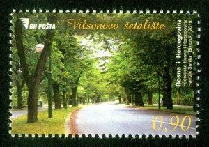 BOSNIA&HERZEGOVINA 2019 - Avenue - Wilson's Promenade (Trees, Parks), MNH