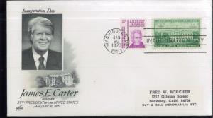 1977 Washington DC Rosalynn & James E Carter Inauguration First Day Covers