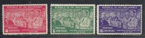 Philippines #512-4 comp mnh cv $2.50