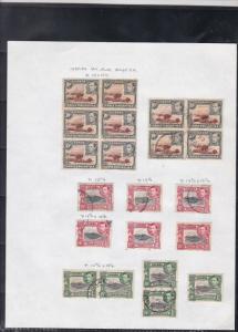 kenya uganda + tanganyika 1938-54 stamps study ref 18482