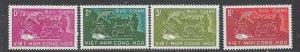 South Vietnam 112-15 MNH 1959 set (ap7311)