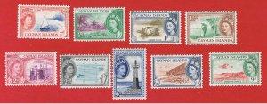 Cayman Islands #135//144  MNH OG  Various Scenes  Free S/H