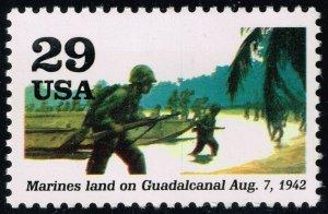 US #2697i World War II; MNH (3Stars)