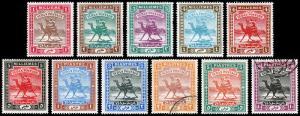 Sudan Scott 17-27 (1902-21) Mint/Used H VF Complete Set, CV $99.85
