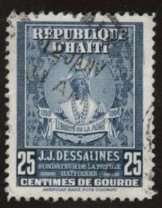 HAITI Scott 382 used  stamp