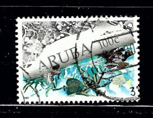 Aruba 55 Used 1990 issue