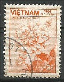 VIETNAM, 1984, CTO 2d Flora and Fauna Scott 1476