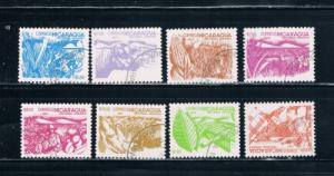Nicaragua 1298-1305 Set Used Agriculture (N0081)+