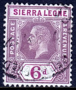 Sierra Leone - Scott #130 - Used - SCV $2.75
