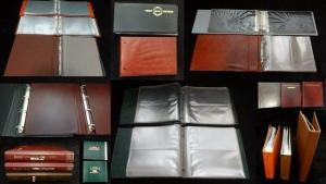 Cover Binders 2&3 Ring Royal Mail China +Sleeves x 10 .Weight 7KG+(B102)