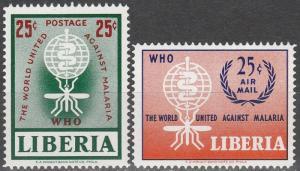 Liberia #402, C139  MNH (K1660L)