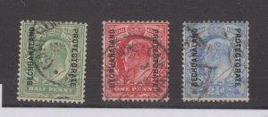 Bechuanaland KEVII 1904 Part Set To 2 1/2d SG67/69 Fine Used JK1641