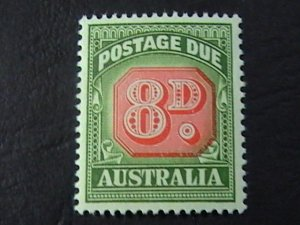 AUSTRALIA # J92-MINT NEVER/HINGED----POSTAGE DUE----1958-60(LOTa)