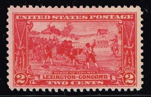 US STAMP  # 618 2c Lexington Concord Issue MNH/OG