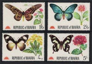 Biafra Butterflies 4v MI#27-30