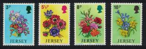 Jersey Anemones Daffodil Iris Gladioli Spring Flowers 4v SG#103-106