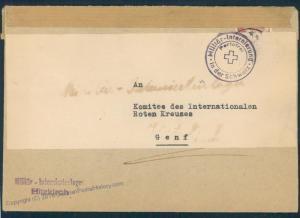 Switzerland WWII Internee Camp Hitzkirch Prisoner Cover 53823